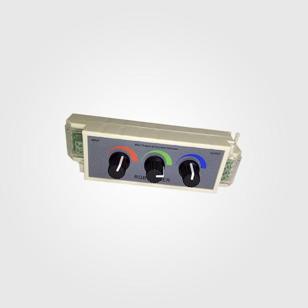 Control LED Dimmer RGB para Cintas & mangueras