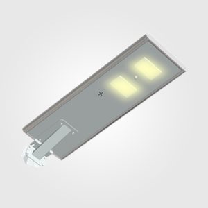 LÁMPARA LED DE CALLE CON PANEL SOLAR INTEGRADO (40W)