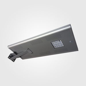 LÁMPARA LED DE CALLE CON PANEL SOLAR INTEGRADO (20W)