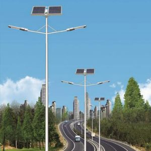 LAMPARA LED SOLARES DE CALLE 30W