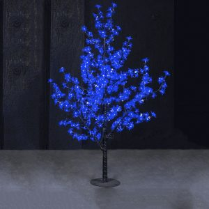 Arbol LED 45W 864 LEDS AZUL