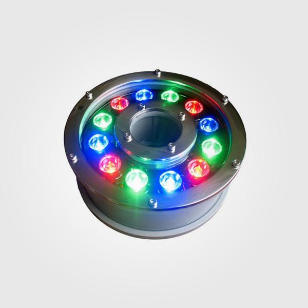 Underwater LED 12w Lampara LED de fuente 12W