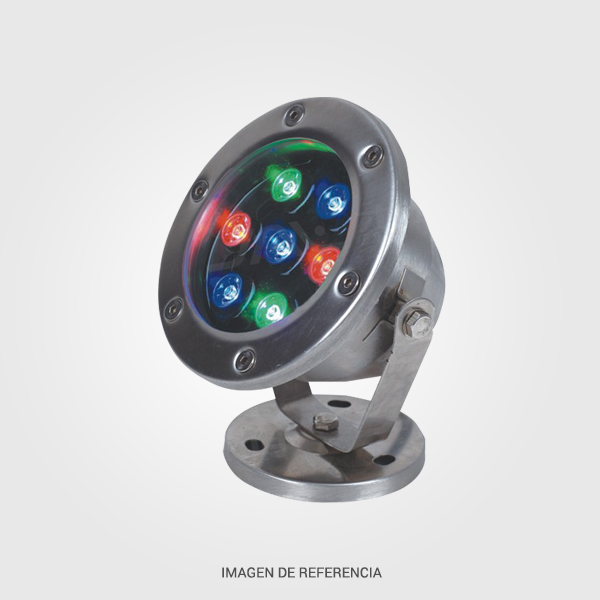 Lampara LED para fuente 6W RGB Multicolor
