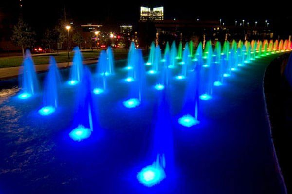 lampara led de fuente 6w