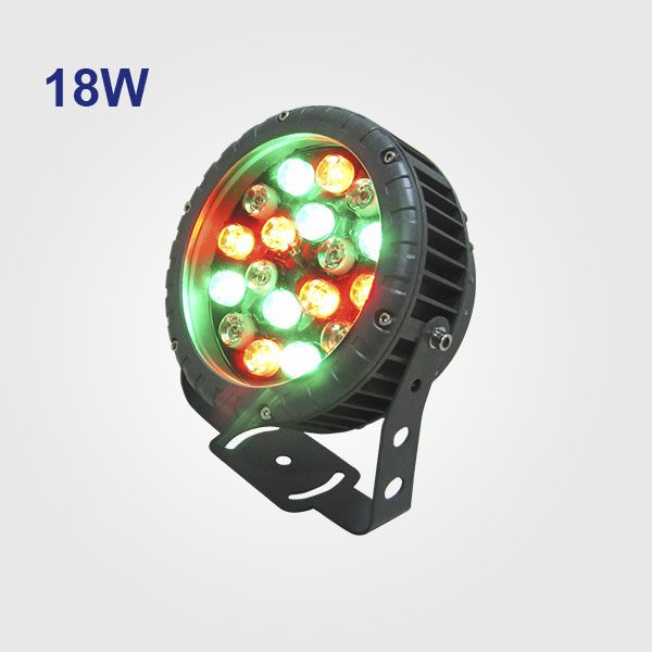 reflectores led 12W-18W RGB