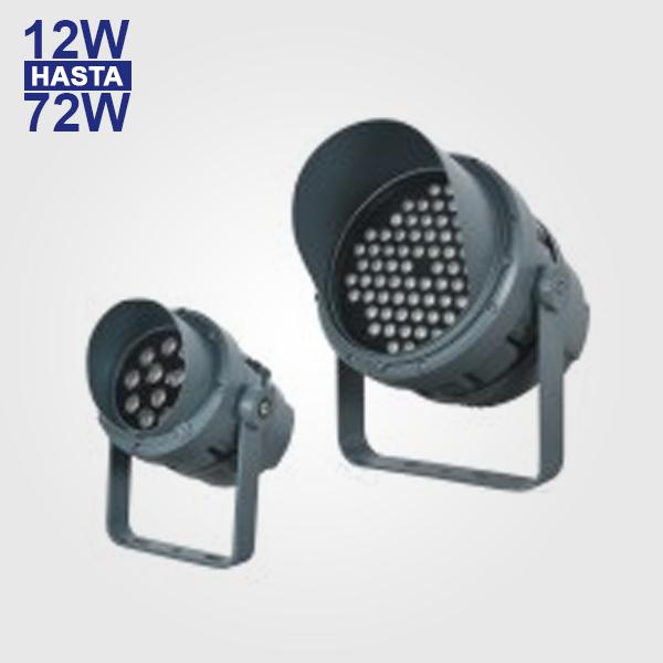 Reflector LED RGB 12W 24W 72W