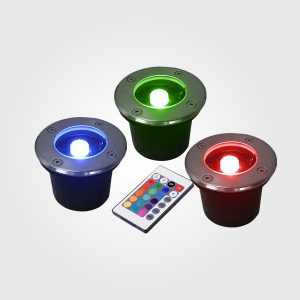 Lamparas LED Empotrable 1W para pisos