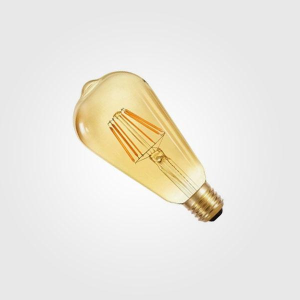 BULBOS LED de FILAMENTOS 6W Tipo Vintage