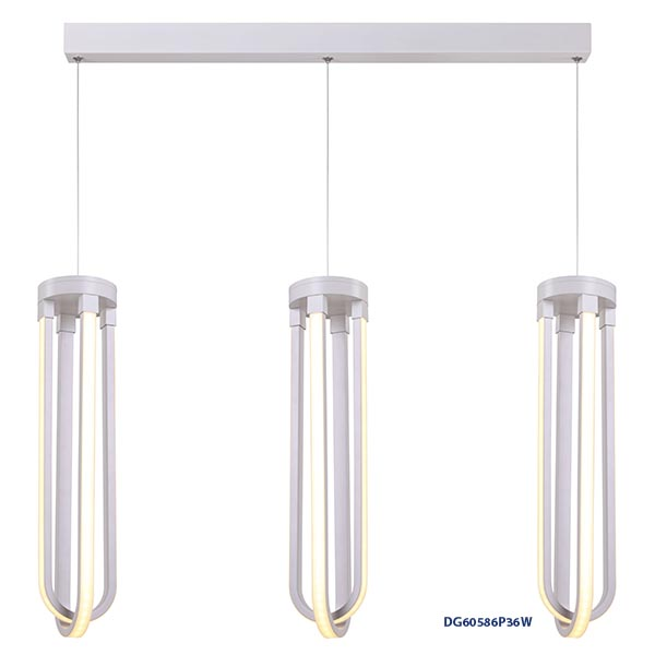 LAMPARAS DECORATIVAS COLGANTE 3x36W
