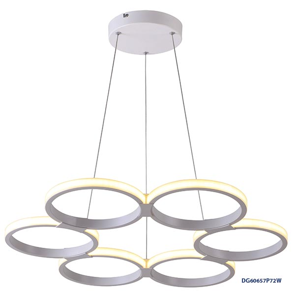 LAMPARAS DECORATIVAS COLGANTE 72W