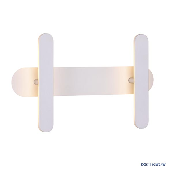 LAMPARAS LED DECORATIVAS DE PARED 2x4W