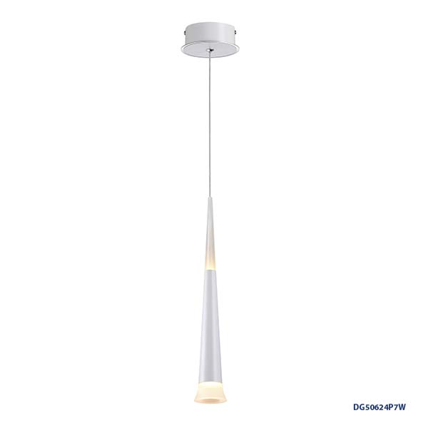 LAMPARAS LED DECORATIVAS COLGANTE 7W