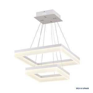 LAMPARAS LED DECORATIVAS COLGANTE 96W