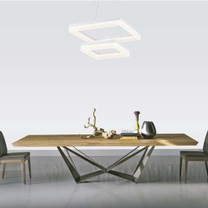 LAMPARAS LED DECORATIVAS COLGANTE 96W