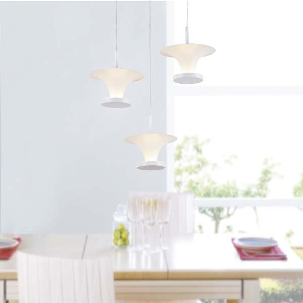 LAMPARAS LED DECORATIVAS COLGANTE 6x5W