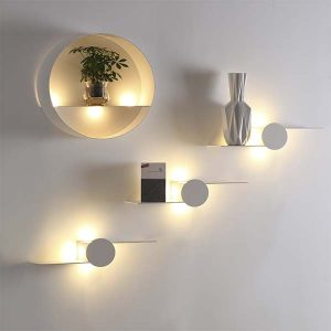LAMPARAS LED DECORATIVAS DE PARED 20W