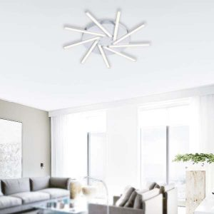 LAMPARAS LED DECORATIVAS DE SUPERFICIE 54W