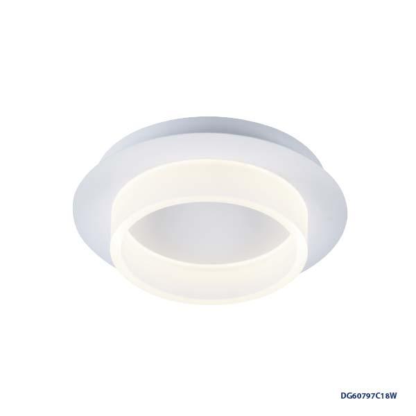 LAMPARAS LED DECORATIVAS DE SUPERFICIE 18W