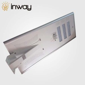 LÁMPARA LED DE CALLE CON PANEL SOLAR INTEGRADO (60W)