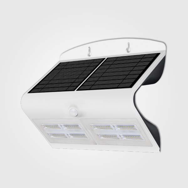 Lamparas LED Solares de Pared 6.8W