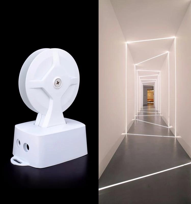 Lamparas LED de Superficie de ventana 0-360 9W