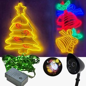 LUCES LED NAVIDEÑAS